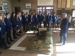 Year 10 Visit to the Somme Centre